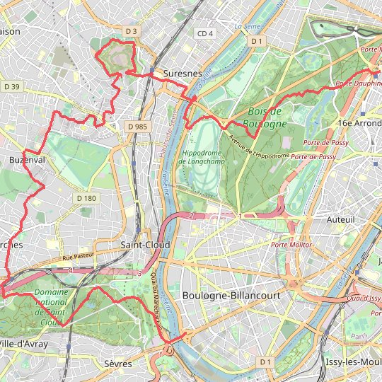 Sèvres Dauphine GPS track, route, trail